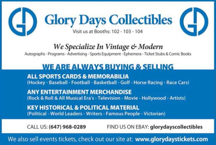 12 SCME18MAY Glory Days Collectibles - Magazine