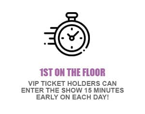 VIP Package 1st onthefloor - Tickets